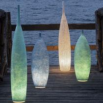 Bodenlampe / modern / Stahl / aus Laprene®