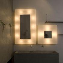 Moderne Wandleuchte / Stahl / aus Nebulite® / LED