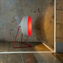 Bodenlampe / modern / Stahl / aus Nebulite®