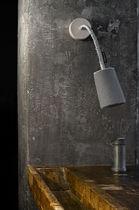 Moderne Wandleuchte / Wolle / Stahl / Nylon