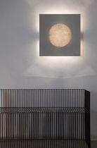 Moderne Wandleuchte / Stahl / aus Nebulite® / Halogen