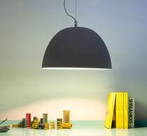 Hängelampe / modern / Stahl / aus Nebulite®