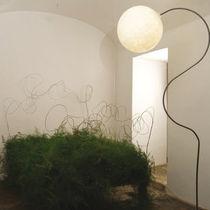 Stehlampe / modern / aus Gusseisen / aus Stahl