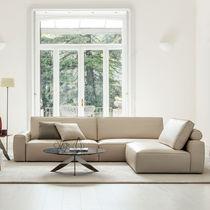 Modulierbares Sofa / modern / aus Tierfell / Stoff
