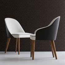 Moderne Tisch- und Stuhlkombination / Holz / Innen / Privatgebrauch