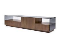 Moderner Fernseh Sideboard / nach Maß / für Hotelzimmer / Massivholz