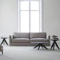 Modernes Sofa / Samt / Leinen / 4 Plätze