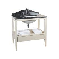 Freistehender Waschtisch Unterschrank / aus Marmor / klassisch / Schubladen