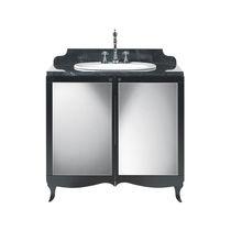 Freistehender Waschtisch Unterschrank / aus Marmor / klassisch / mit Ablage