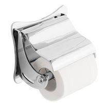 Wandmontierter Toilettenpapierhalter / verchromtes Metall / Gewerbe