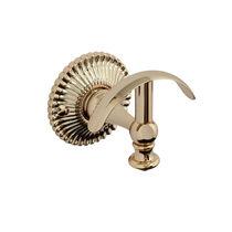 Klassischer Garderobenhaken / verchromtes Metall / doppelt / für Badezimmer