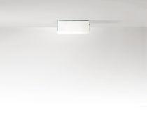 Moderne Deckenleuchte / quadratisch / rechteckig / Glas