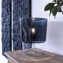 Tischlampe / modern / geblasenes Glas / Innen