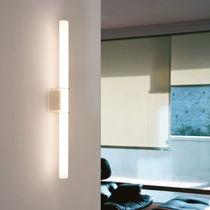 Moderne Wandleuchte / Glas / LED / linear