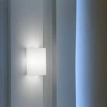 Moderne Wandleuchte / Glas / IP20 / weiß