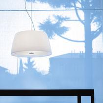 Hängelampe / modern / geblasenes Glas / Plexiglas®