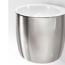 Wand-Waschbecken / rund / aus Keramik / originelles Design