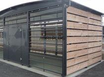 Überdachung für Müllcontainer