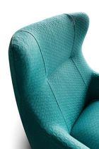 Moderner Sessel / Stoff / Kunstleder / Bergère -Stil