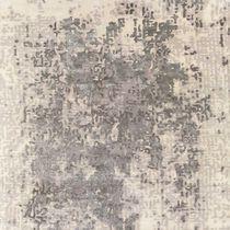 Moderner Teppich / Motiv / Wolle / Baumwolle