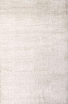 Moderner Teppich / uni / aus pflanzlicher Seide / Baumwolle