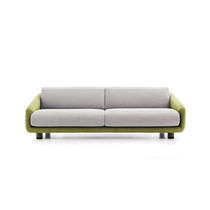 Modernes Sofa / Stoff / Contract / 2 Plätze