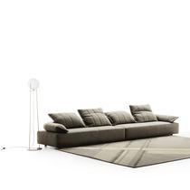 Modulierbares Sofa / modern / Stoff / schrägstellbar