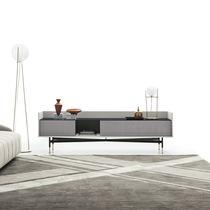 Modernes Fernsehmöbel / Holz / Metall