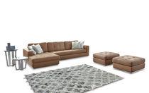Ecksofa / modulierbar / modern / Leder