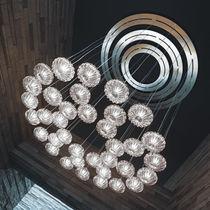 Moderner Lüster / Glas / Glühlampen