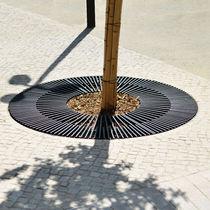 Baumgitter aus Stahl / rund