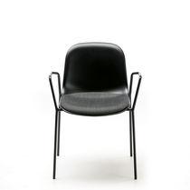 Stuhl / Skandinavisches Design / Polster / Stapel / mit Schreibplatte