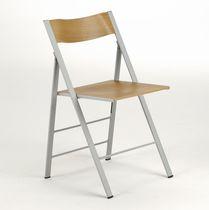 Moderner Stuhl / Klapp / Esche / Contract
