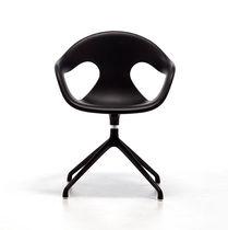 Moderner Bürostuhl / sternförmiger Fuß / drehbar / Kunststoff