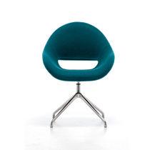 Moderner Sessel / Aluminium / Contract / für Hotels