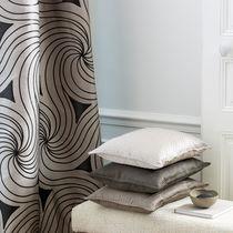 Stoff für Gardinen / mit geometrischem Muster / Baumwolle / Seide