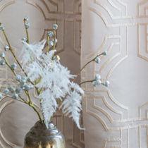 Stoff für Gardinen / mit geometrischem Muster / Polyester / Viskose