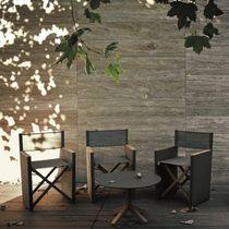 Moderner Stuhl / Polster / mit Armlehnen / Klapp