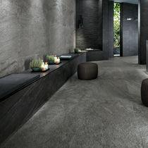 Innen-Fliesen / Fußboden / Feinsteinzeug / scharriert