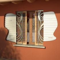 Einbaukasten-Fensterläden / Holz / für Fenster