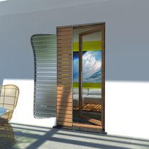 Einbaukasten-Fensterläden / Holz / Tür