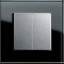 Druckschalter / doppelt / Thermoplast / modern