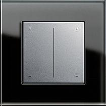 Lichtdimmer / mit Schiebeknopfschalter / Kunststoff / modern
