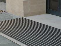 Eingangsmatte aus PVC / Aluminium / Profil / Schmutzfang