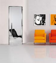 Innenbereich-Tür / einflügelig / Glas / bündig
