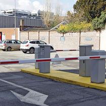 Zutritts-Sperrpfosten / Stahl / feststehend / für Parkplätze
