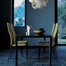 Moderner Stuhl / Polster / mit abnehmbaren Bezug / Stoff