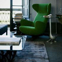 Moderner Sessel / Stoff / Ohren / mit abnehmbaren Bezug