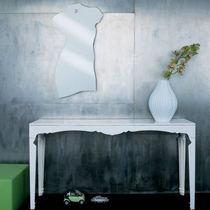 Wandmontierter Spiegel / modern / Edelstahl