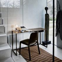 Moderner Sekretär / Metall / Stahl / Leder